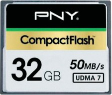 Test Compact Flash (CF) - PNY CF 50MB/s 333x UDNA 7