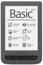 Test eBook-Reader bis 50 Euro - Pocketbook Basic Touch