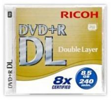 Test DVD-R/+R Double Layer (8,5 GB) - Ricoh DVD+R DL 8x