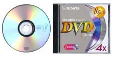 Test DVD-R/+R Double Layer (8,5 GB) - Ridata DVD-R DL 8,5 GB 4x