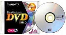 Test DVD-R/+R Double Layer (8,5 GB) - Ridata DVD+R DL 8,5 GB 8x