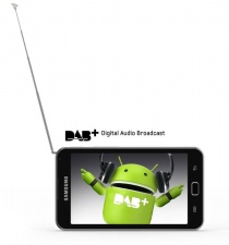 Test Android-MP3-Player - Samsung Galaxy S Wifi 5.0 DAB+