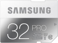 Test Secure Digital (SD) - Samsung Pro Klasse 10 UHS-I SD-Karte