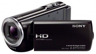 Sony HDR-CX320E Test - 0