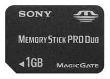 Test Memory Stick - Sony Memory Stick PRO Duo 1 GB