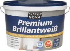 Test Farben, Lacke & Lasuren - Super Nova Premium Brillantweiß