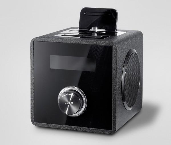 tchibo mini soundstation 300134 dockingstationen im test. Black Bedroom Furniture Sets. Home Design Ideas