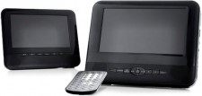 Test DVD-Player - Tchibo tragbarer DVD-Player 50283 mit 2 LC-Displays