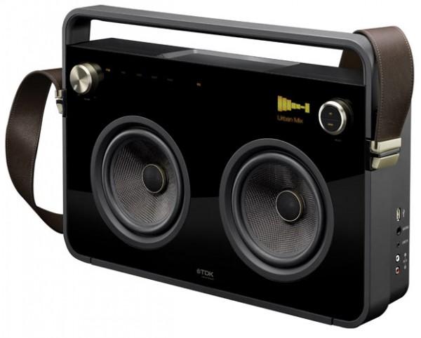tdk a73 boombox drahtlose lautsprecher im test. Black Bedroom Furniture Sets. Home Design Ideas