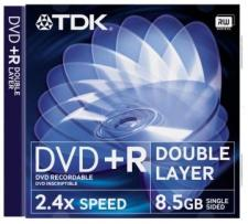 Test DVD-R/+R Double Layer (8,5 GB) - TDK DVD+R Double Layer 8,5 GB 2.4x