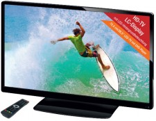 Test Terris LED-TV 2953 mit DVD-Player