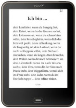 Test eBook-Reader bis 50 Euro - Tolino Vision