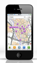 Test Navi-Apps - TomTom Places