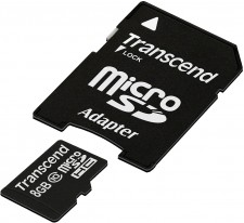 Test Secure Digital (SD) - Transcend microSDHC microSDXC 45MB/s 300x Class 10 USH-I