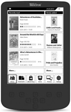Test eBook-Reader bis 50 Euro - TrekStor Pyrus 2 LED