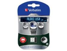 Test USB-Sticks mit 8 GB - Verbatim Store'n'Go Audio USB