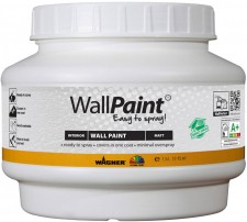 Test Farben, Lacke & Lasuren - Wagner WallPaint Easy to spray