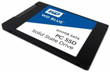 Test Festplatten - Western Digital WD Blue PC SSD