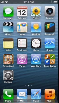 iOS 6 (© Apple)