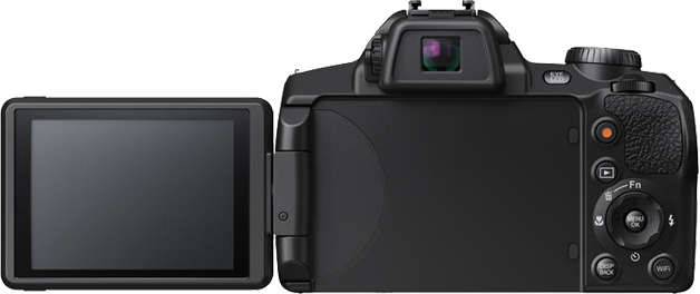 Fujifilm FinePix S1 Display Klappdisplay