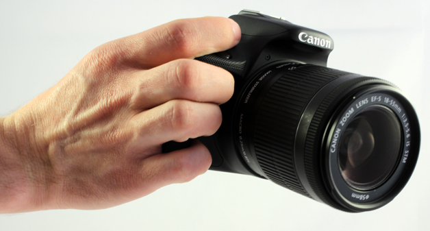 Canon EOS 100D Griff Hand