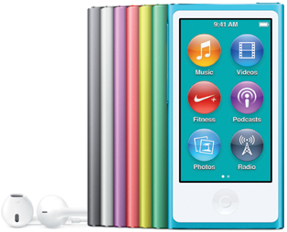 Apple iPod nano (© Apple)